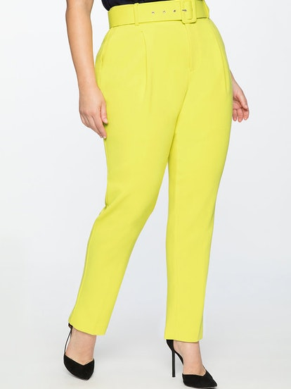 High-Waisted Trouser With Belt