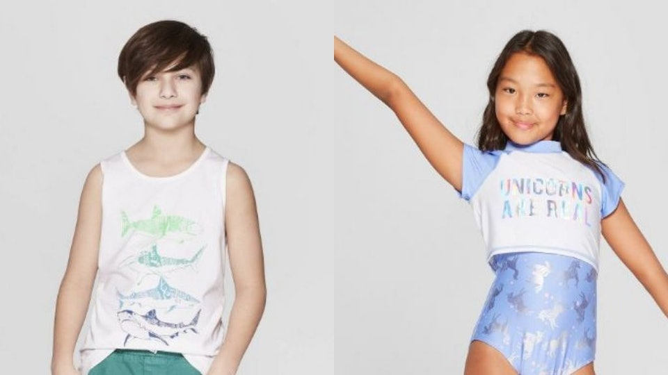 18f0b06a7 Target's Spring Break Styles For Kids Include $5 Tank Tops, $10 Swim Trunks  & So Much More