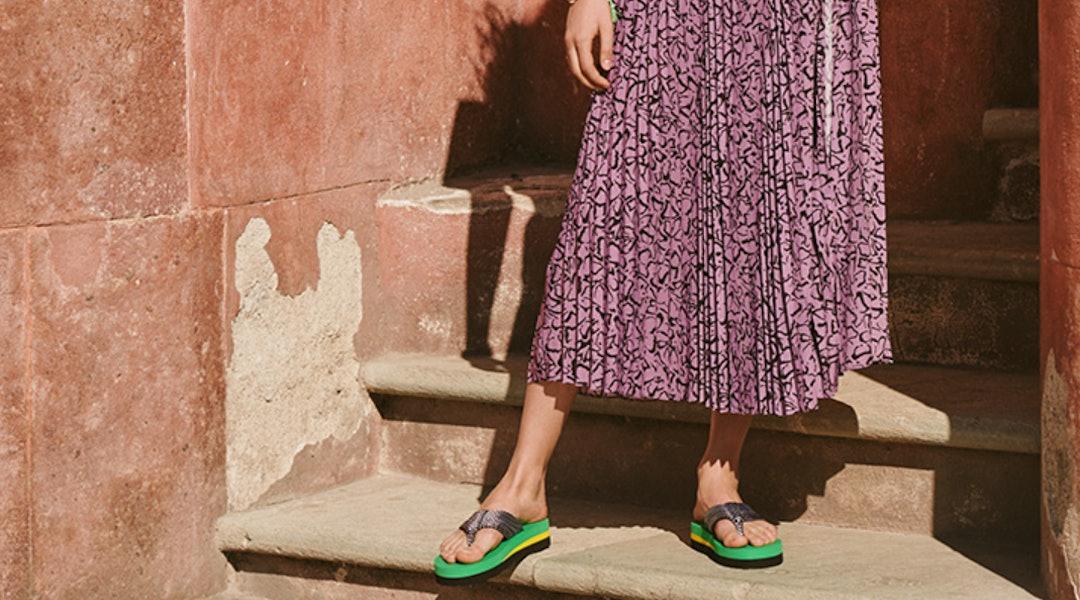 Band Slingback Marni Wedge Sandals Two jc34RSA5Lq