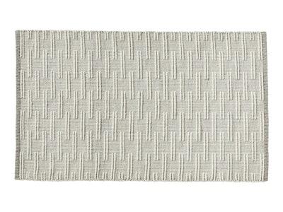 Textured Wool Rug 5'x8'