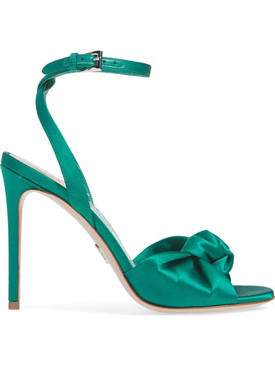 Knotted Silk Sandal