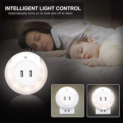 Ashbringer LED Plug-In Night Light