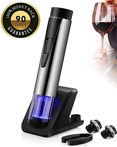 CUSIBOX Electric Wine Bottle Opener