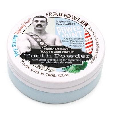 Frau Fowler Power Mint Tooth and Gum Powder