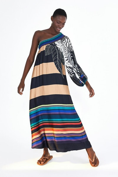 Naturalis One Shoulder Dress