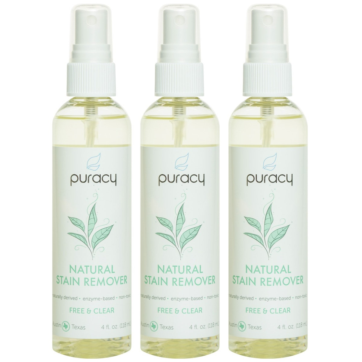 Puracy Natural Laundry Stain Remover (3 Pack)