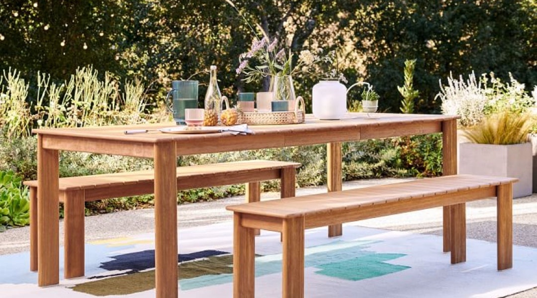West Elm S New Playa Outdoor Collection Is Sleek Sustainably