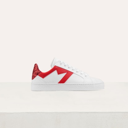 Sneakers with Contrasting Details