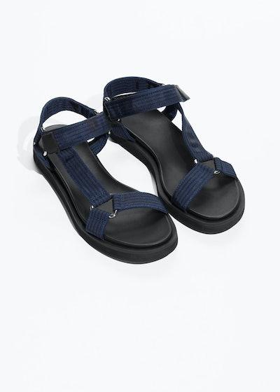 Scratch Strap Sandals
