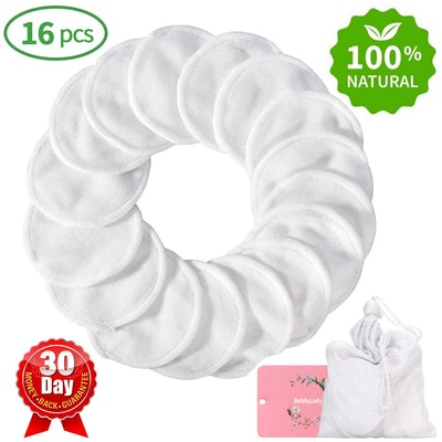 TOPOINT Reusable Makeup Remover Pads (16 Count)