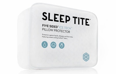 Malouf Sleep Tite Pillow Protector, Standard, Set of 2