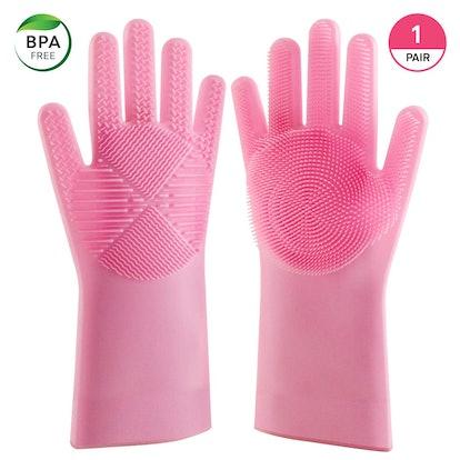 Blitzby Magic Wash Scrubbing Gloves