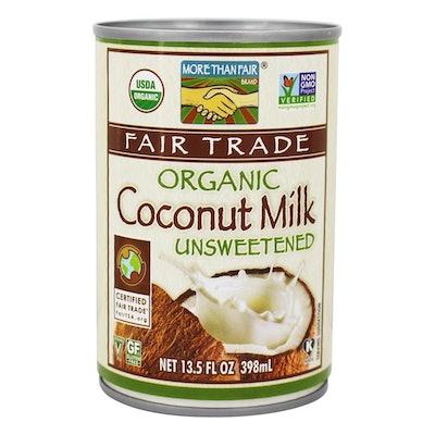 Organic Unsweetened Coconut Milk