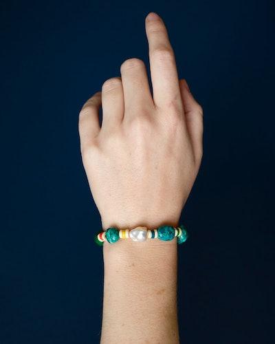 Rainbow Turquoise Bracelet