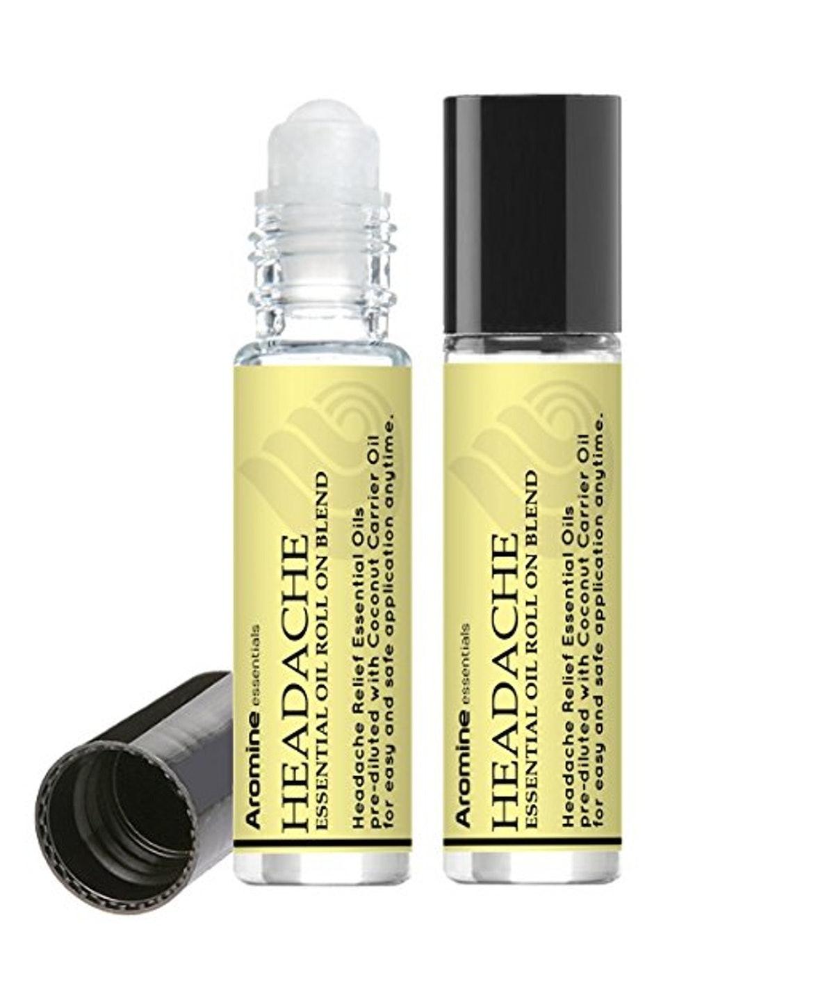 Headache Relief Essential Oil Roll-On