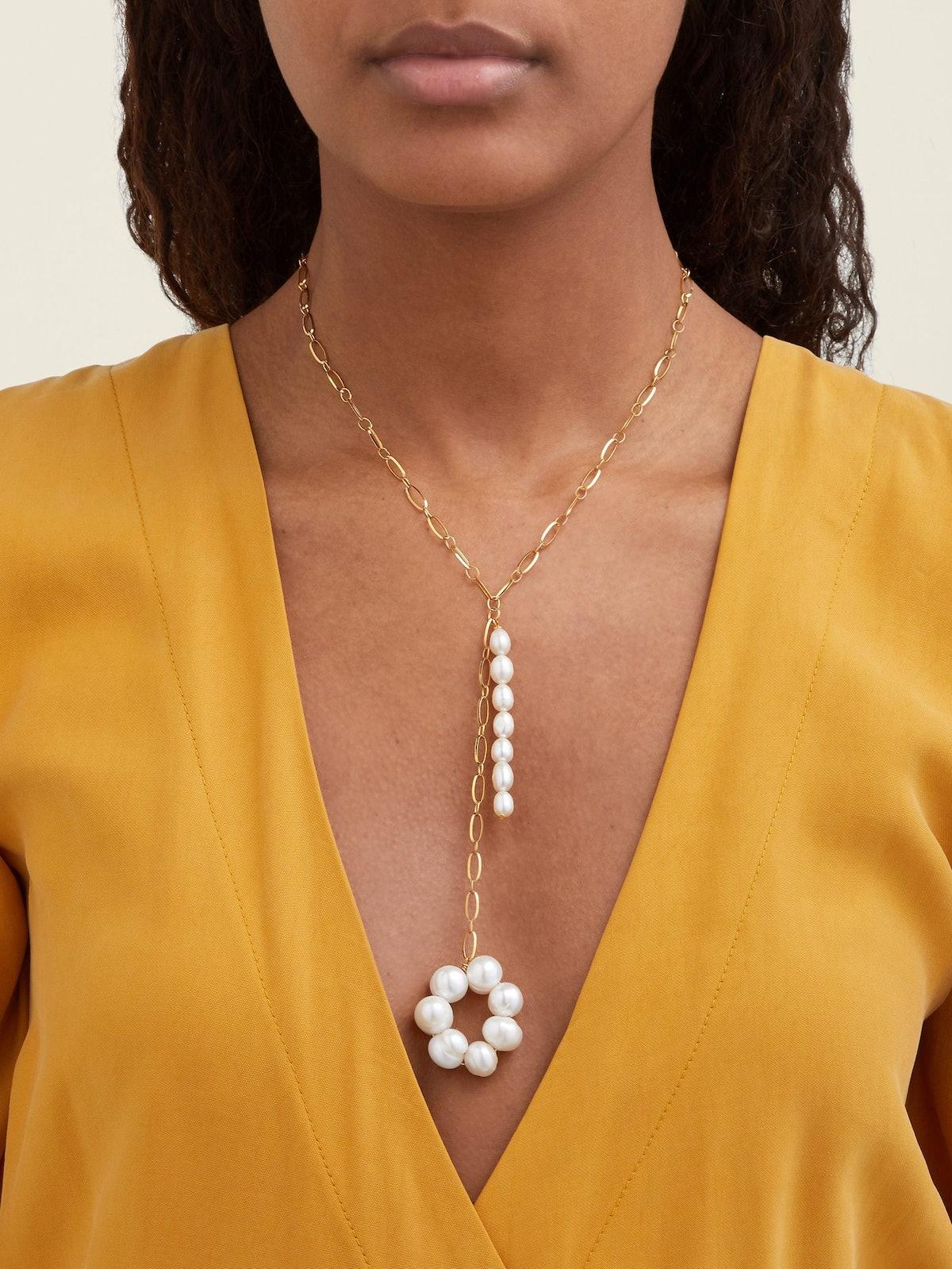 Baroque Pearl Necklace