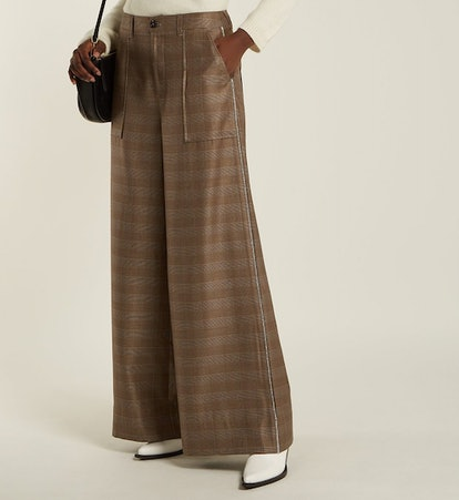 Merkel High-Rise Wide-Leg Trousers