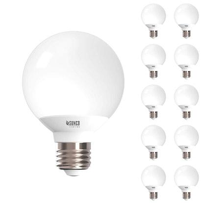Sunco Lighting LED Globe Vanity Lights (10-Pack)