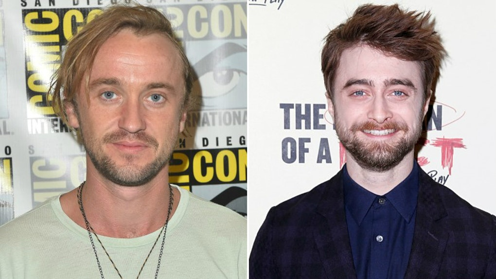 Are Tom Felton Daniel Radcliffe Still Friends Tom S Idea For A Potter Reunion Is Epic