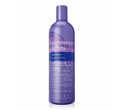 Clairol Professional Shimmer Lights Shampoo Blonde & Silver