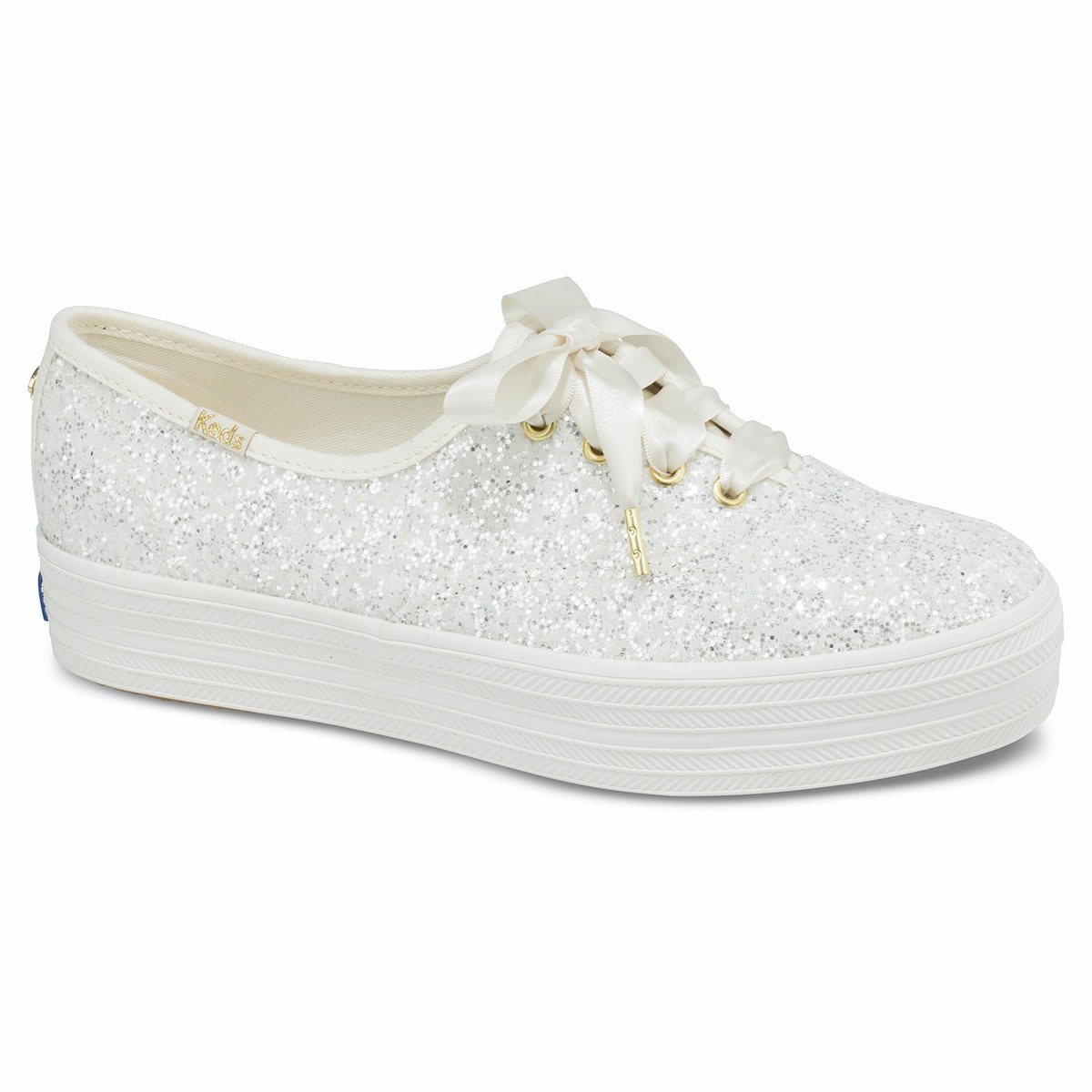 The Keds x Kate Spade New York Wedding Collection Is A Glittery Dream