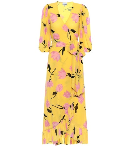 GANNI Exclusive To Mytheresa – Floral Wrap Dress