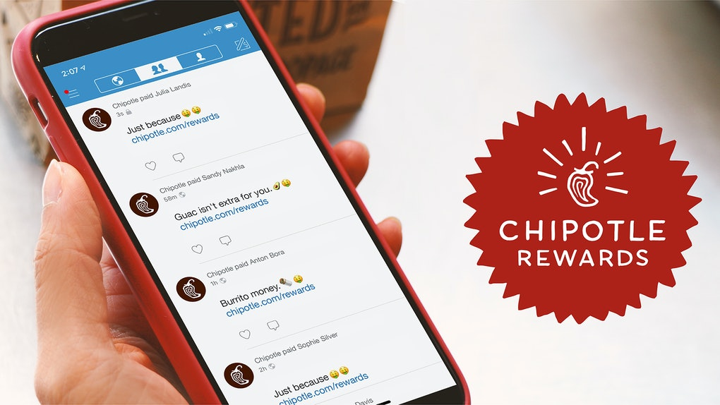 This Chipotle Rewards Venmo Giveaway Could Earn You Up To $500 Just