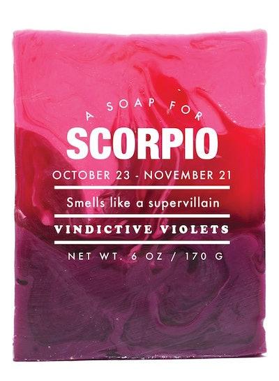 Scorpio Soap