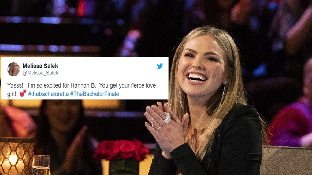 These Tweets About Hannah B  Being The Bachelorette Will Get You So