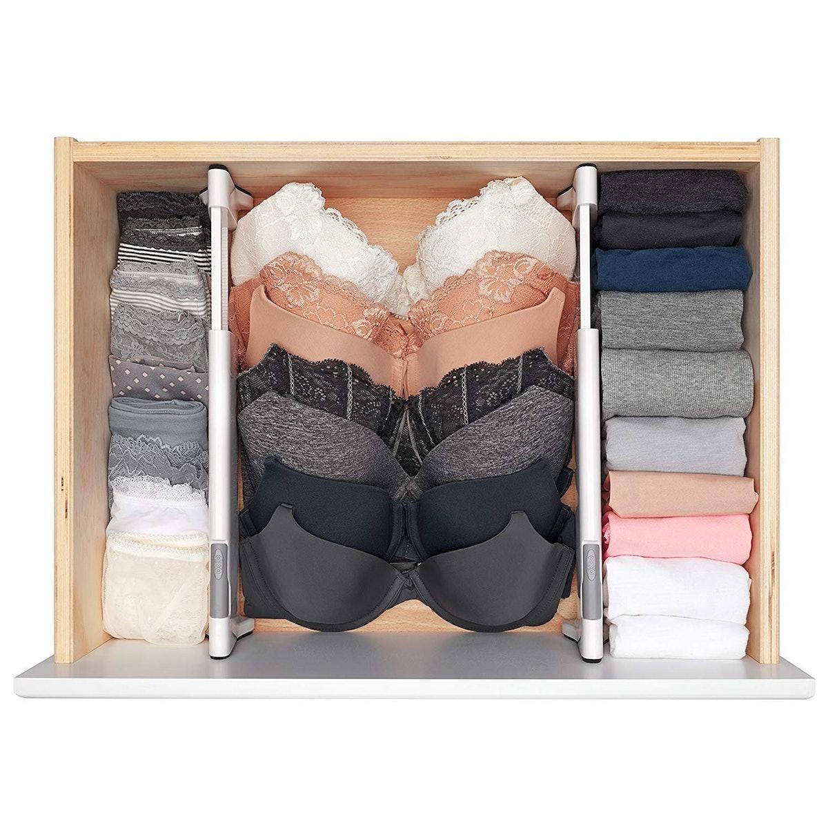 OXO Good Grips Expandable Dresser Drawer Divider (2 Pack)