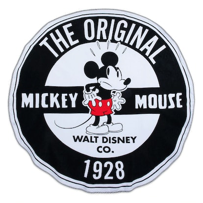 Mickey Mouse Round Beach Towel - Oh My Disney