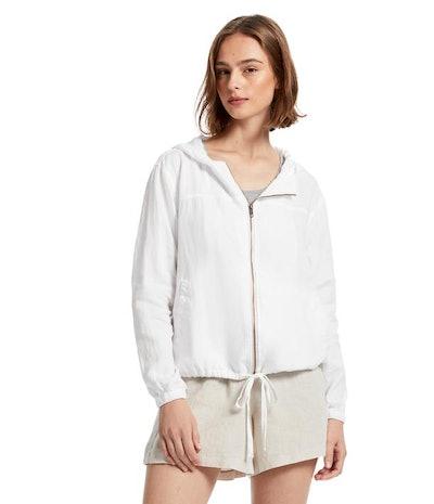 Sierra Linen Hooded Jacket