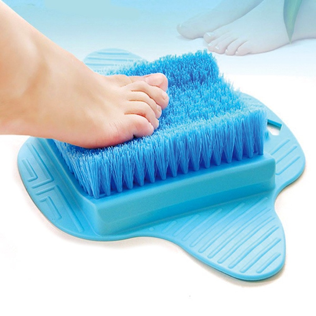 Bath Blossom Foot Scrubber Brush