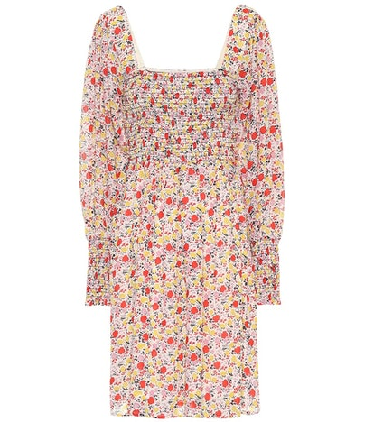 GANNI Exclusive To Mytheresa – Floral Georgette Minidress