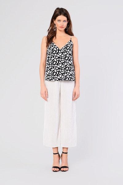 Pleated Velvet Pants By Glamorous