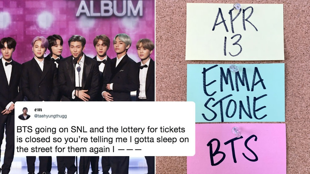 These Tweets About BTS' Saturday Night Live Performance Announcement
