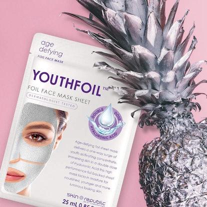 Skin Republic Foil Face Mask