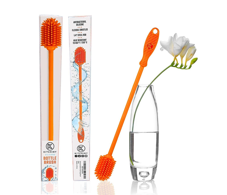 Long Handle Flexible Bottle Cleaning Brush Cleaner Tool Straight brush