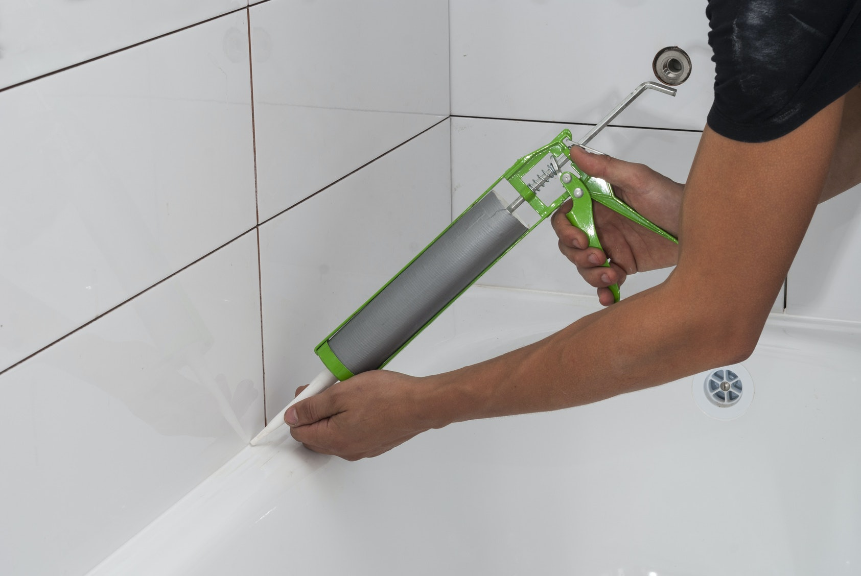 How Long Does Caulking Take To Dry In A Bathroom the 3 best shower caulks to prevent mildew