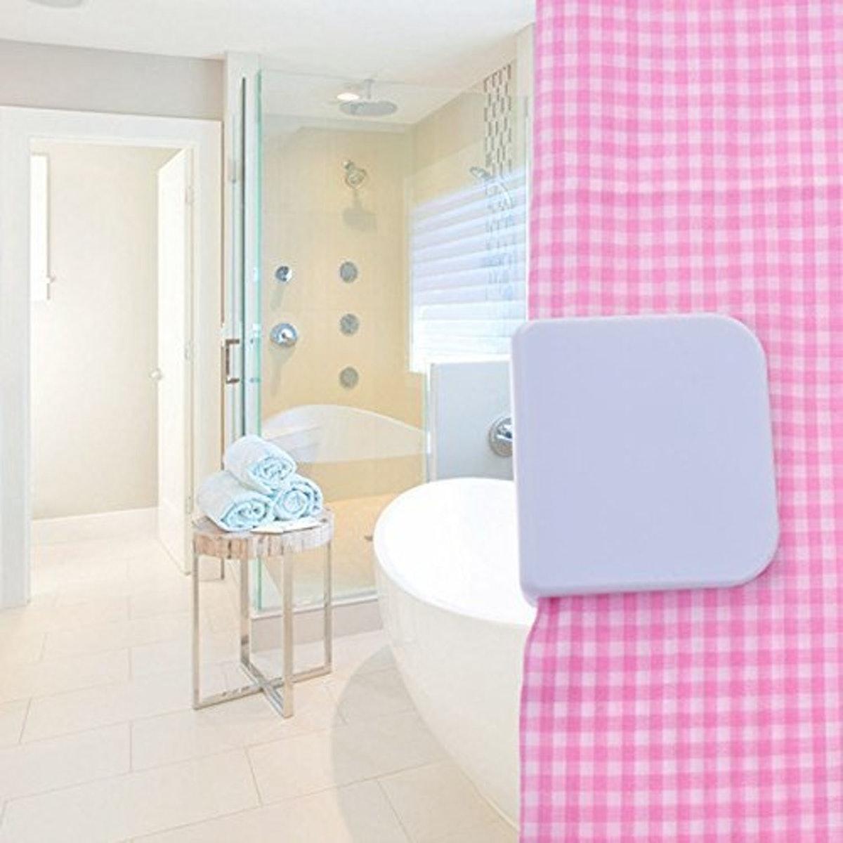 LGDehome Shower Splash Clips (6 Pack)