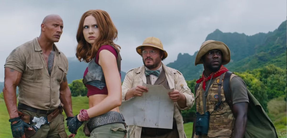 The Rock Shared A First Look At 'Jumanji 2' & It's The Perfect Welcome Back To The Franchise — PHOTO