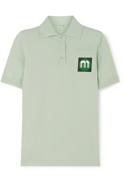 Appliqued Polo Shirt