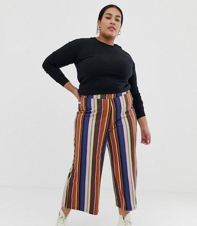 Curve 70s Stripe Culotte