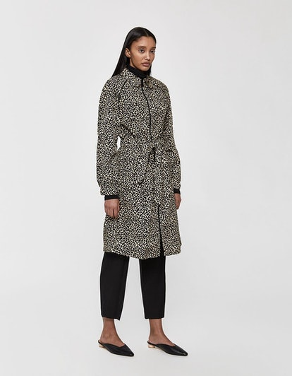 A.P.C. Monica Animal-Print Trench