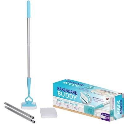 Baseboard Buddy Extendable Microfiber Duster