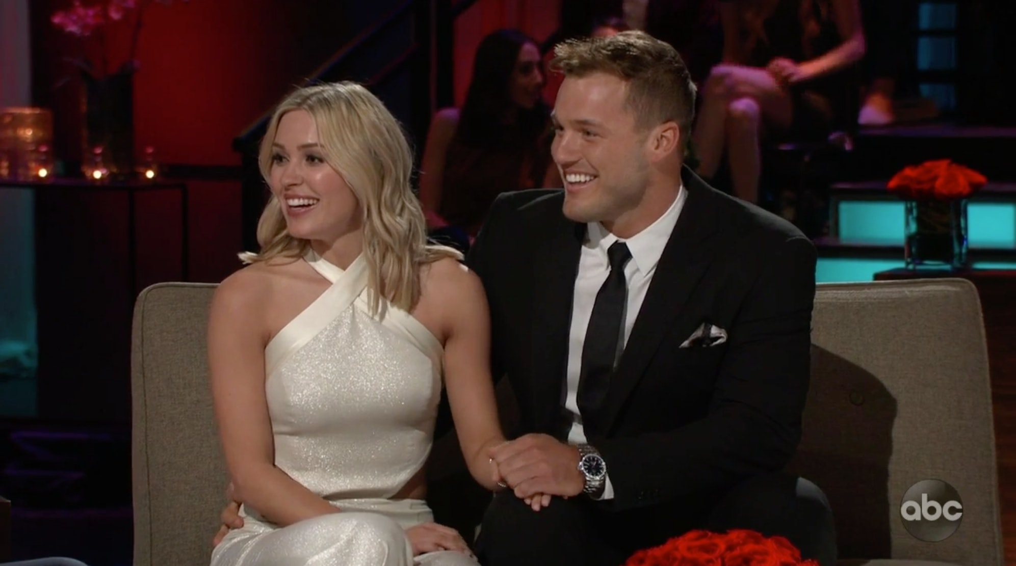 37b0c6828b0 Cassie s Outfits On  The Bachelor  Finale Are Total Opposites