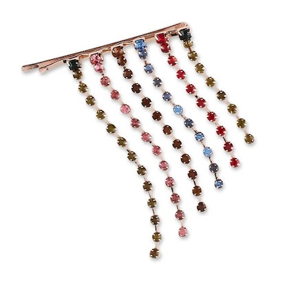 Sincerely Jules by Scunci Bobby Pin with Rainbow Hanging Stones