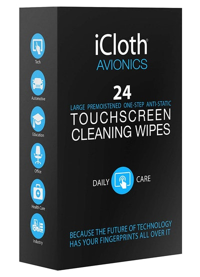 iCloth Large Screen Cleaning Wipes (24 Wipes)