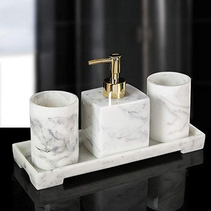RM43 4-Piece Bathroom Accessories Set