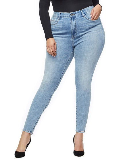 Good Legs Ripped High Waist Skinny Jeans